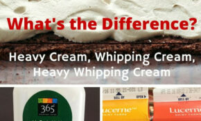 What Is The Difference Betweeen Heavy Cream And Whipping ..
