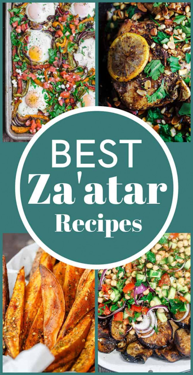 What is Za'atar and How to Use It (BEST Za'atar Recipes ..