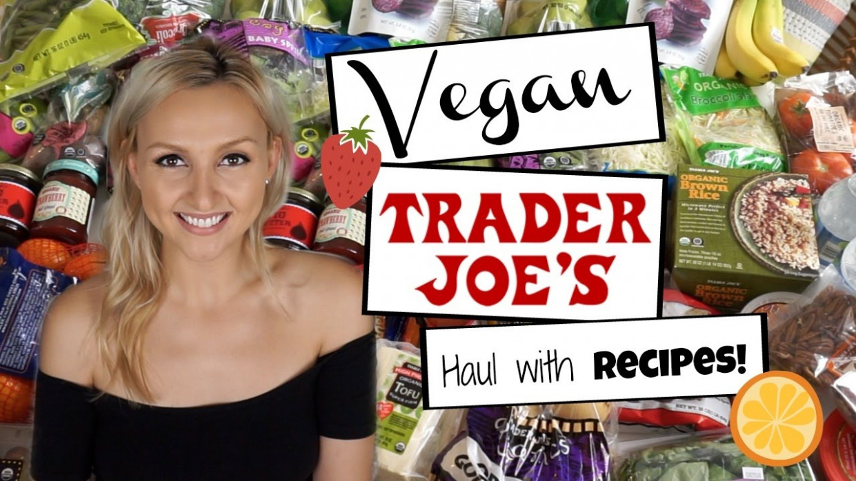What To Get At Trader Joe's W/ VEGAN Recipes + Meal Ideas - Trader Joe's Dinner Recipes