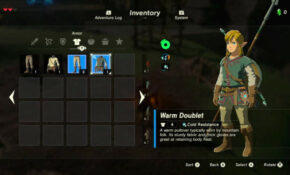 Where To Find Cold Resistance Gear In Zelda Breath Of The Wild – Legend Of Zelda Breath Of The Wild Food Recipes
