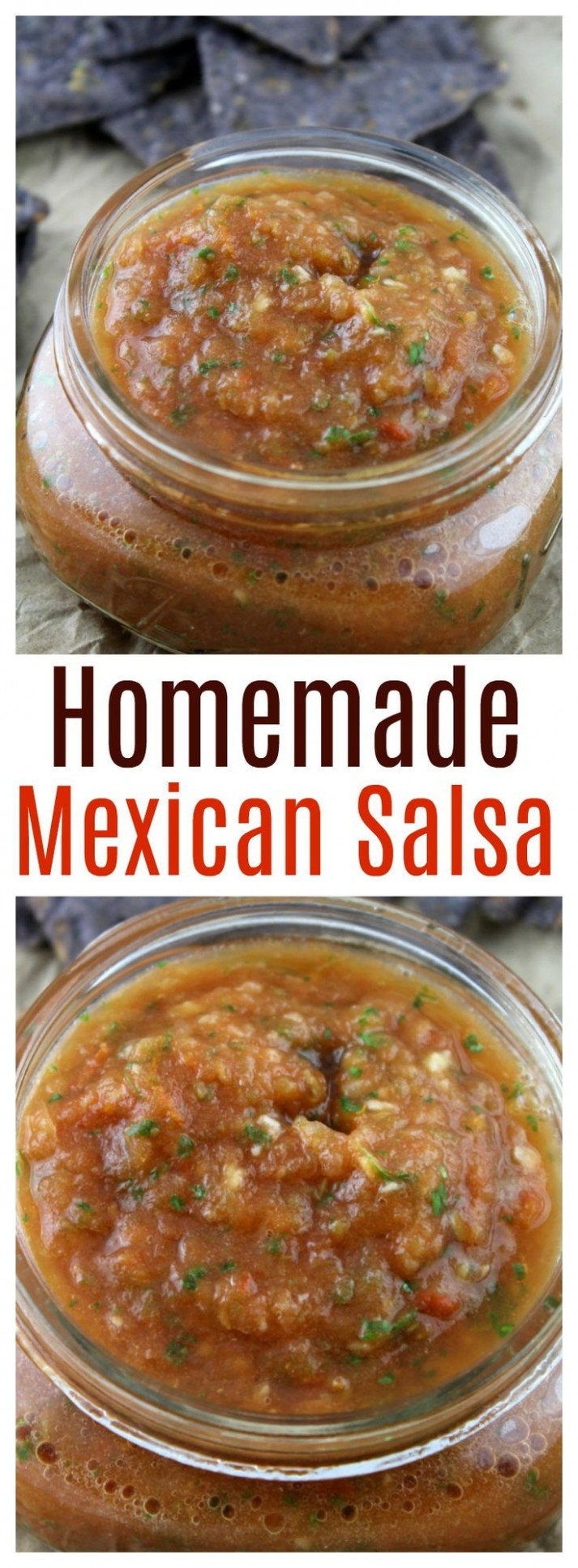 Whip up this easy authentic homemade Mexican salsa in ..
