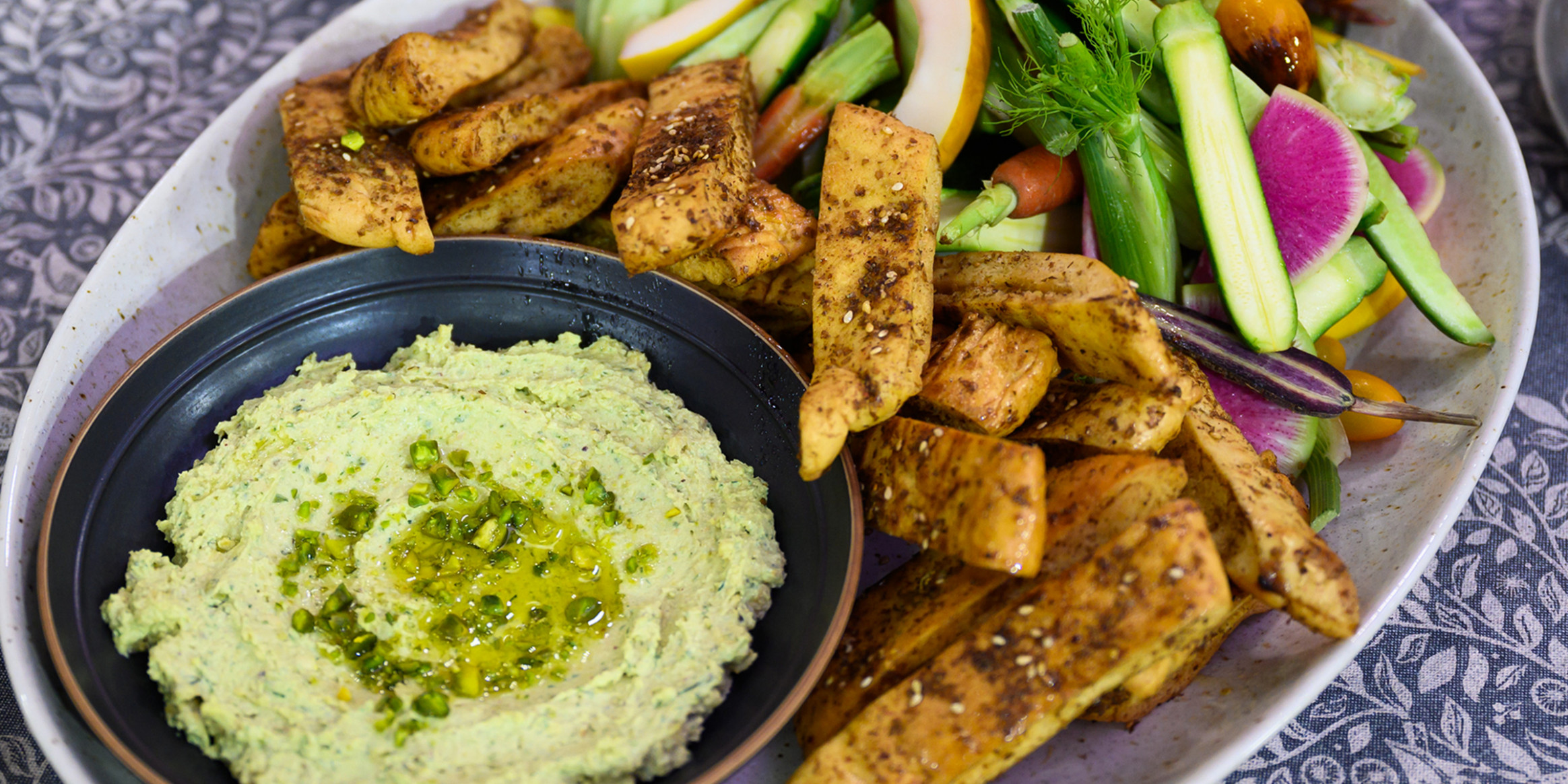 Whipped Feta Dip With Pistachios - Today Show Food Recipes