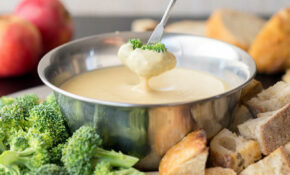 White Bean Beer Fondue – White Bean Recipes Vegetarian
