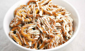 White Chocolate Cinnamon Pretzels – Food Recipes For Breakfast