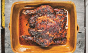 Whole Spicy Smoked Roast Chicken From 'Pitt Cue Co