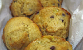 Whole Wheat Banana Chocolate Chip Muffins – Recipes Banana Muffins Healthy