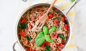 Whole Wheat Pasta With Tomatoes And Spinach – Recipes Pasta Healthy