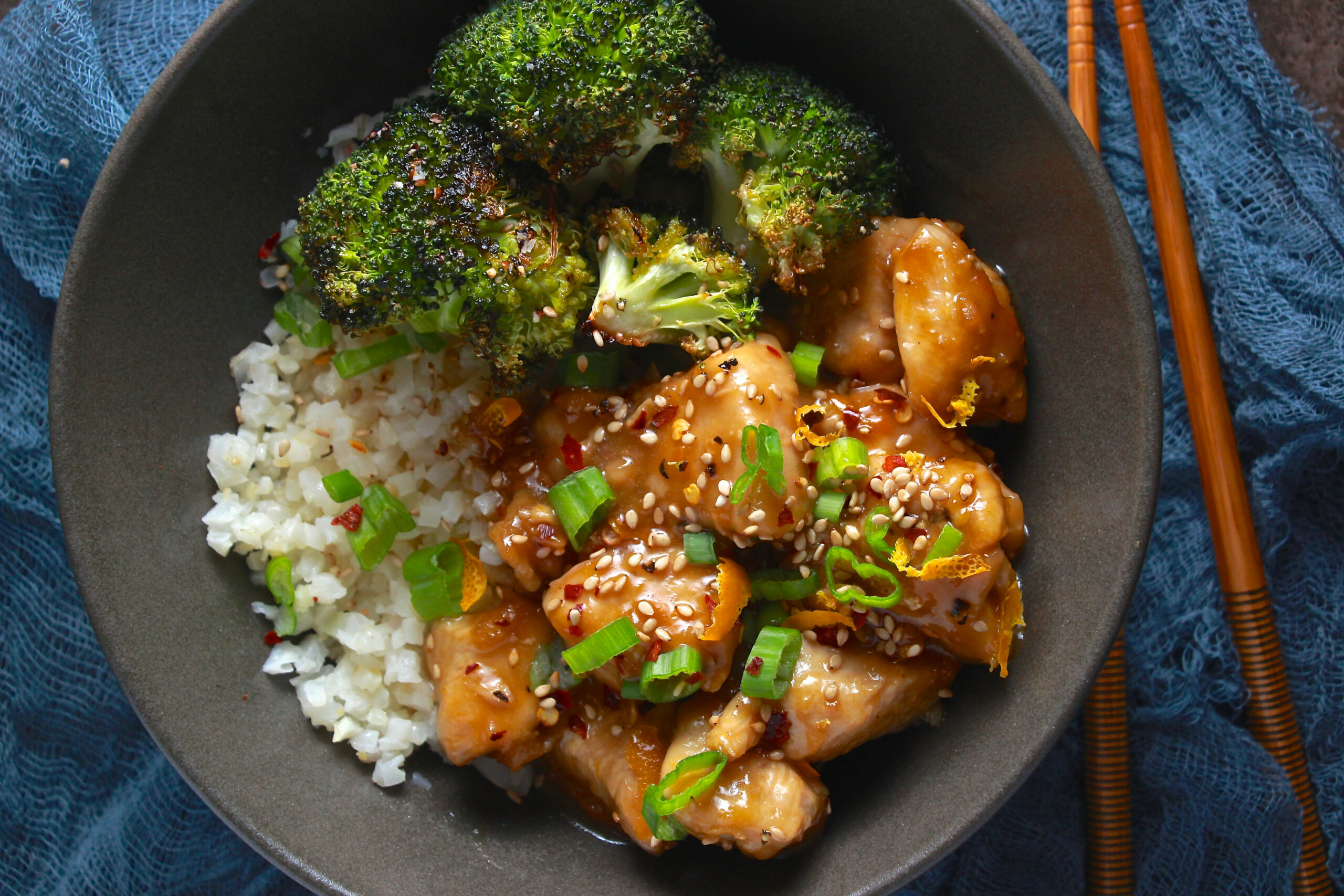 Whole10 Chinese Orange Chicken - whole30 recipes chicken