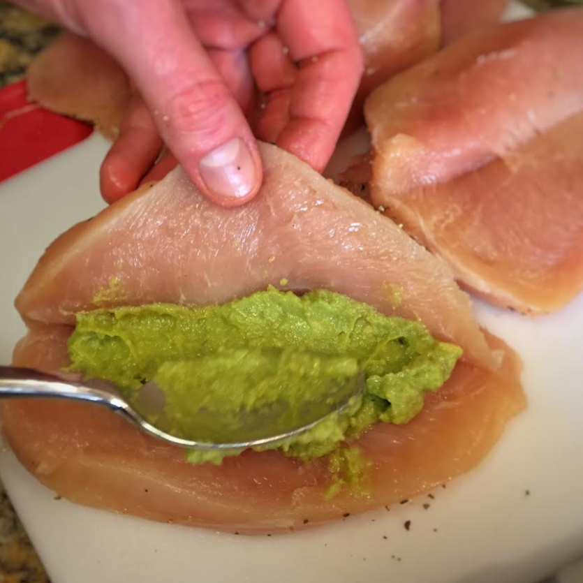 Whole30 Avocado Stuffed Chicken Breasts - Balanced-Life-Leslie - whole30 recipes chicken breast