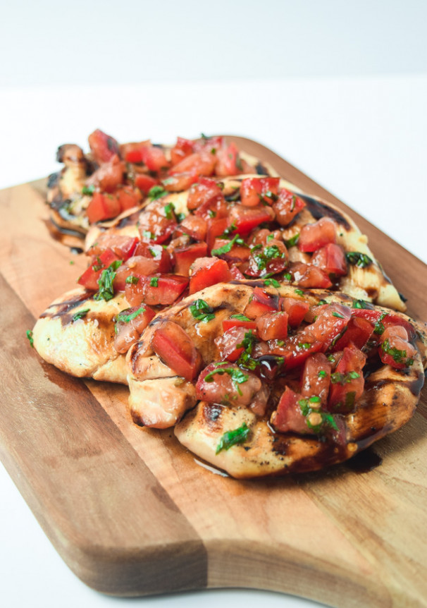 Whole30 Bruschetta Grilled Chicken (Paleo Keto) • Tastythin - whole30 recipes chicken breast