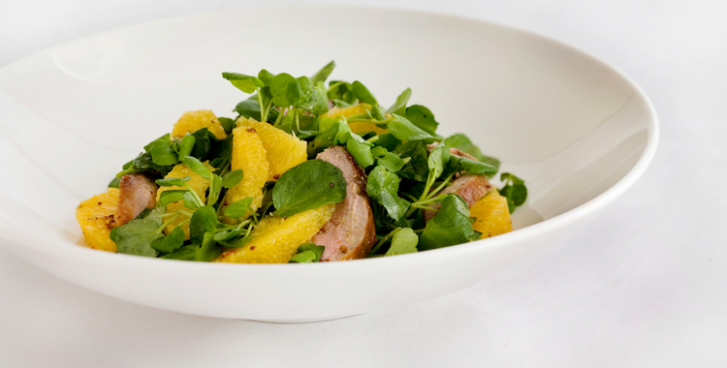 Wild Duck Salads with Orange and Watercress | Healthy ..