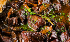 Wild Mushroom And Beef Stew – Girl And The Kitchen – Food Recipes Beef