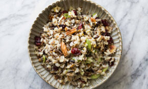 Wild Rice Salad With Cranberries And Pecans Recipe ..