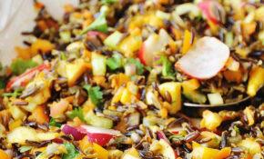 Wild Rice Vegetable Pilaf – Vegetarian Recipes With Rice And Vegetables
