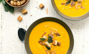 Winter Bisque With Crispy Sage & Shallots – Gluten Free Dairy Free Recipes Dinner