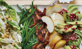 Winter Cobb Salad With Lemon Poppyseed Dressing – Diet Food Recipes