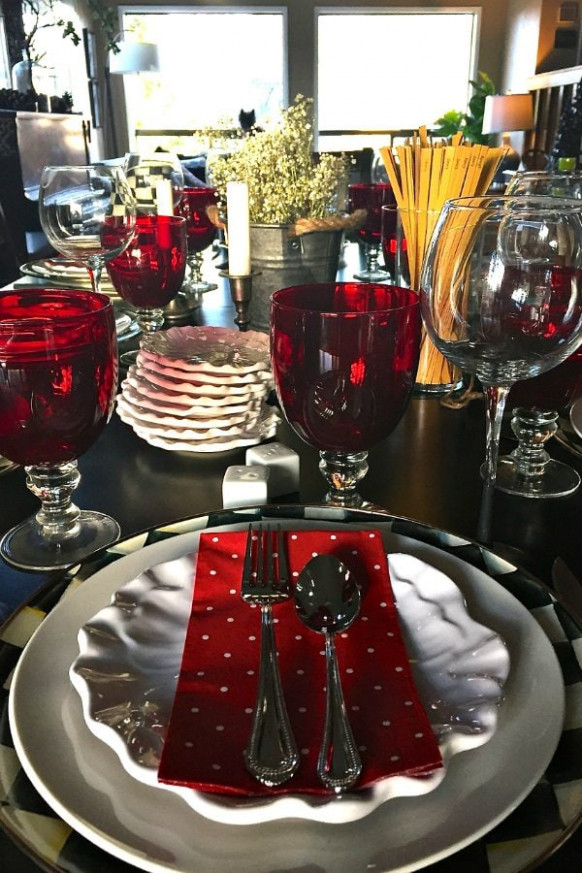 Winter Dinner Party Menu - RecipeGirl - recipes large dinner party