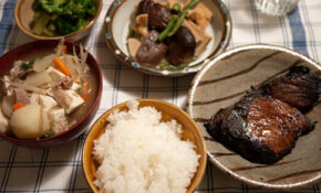 Winter Fish Article In The Japan Times And An Evening Meal ..