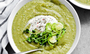 Winter Green Soup – Healthy Recipes Cauliflower