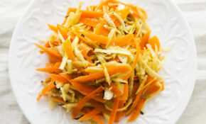 Winter Root Vegetable Slaw Recipe | SimplyRecipes