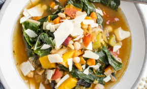 Winter Vegetable Soup With Swiss Chard, Lentils, And Chickpeas – Recipes Vegetarian Winter