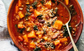 Winter Vegetarian Minestrone Soup – Recipes Vegetarian Winter