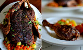 Wonderful Christmas Time: Whole Roasted Duck With Kerala Spice Rub – Dinner Recipes Kerala Style
