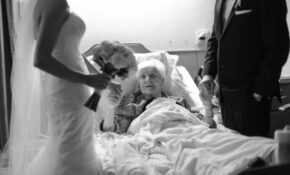 Wonderful Grandson Brought His Wedding To His 91 Year Old ..