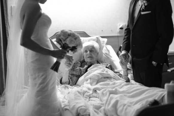 Wonderful grandson brought his wedding to his 91-year-old ..
