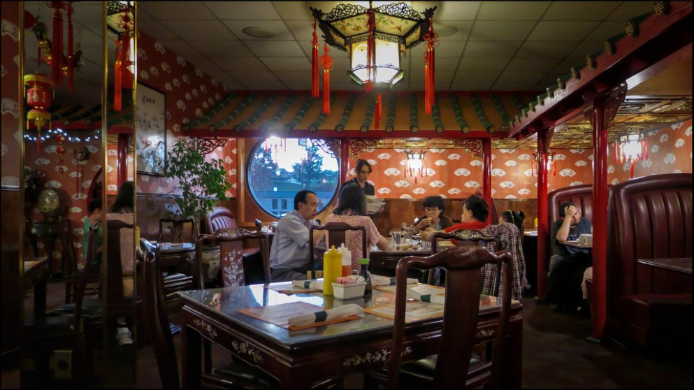Worker & Patrons, Peking Restaurant, at 105 Malin Drive, Wytheville, Virginia 2014.08