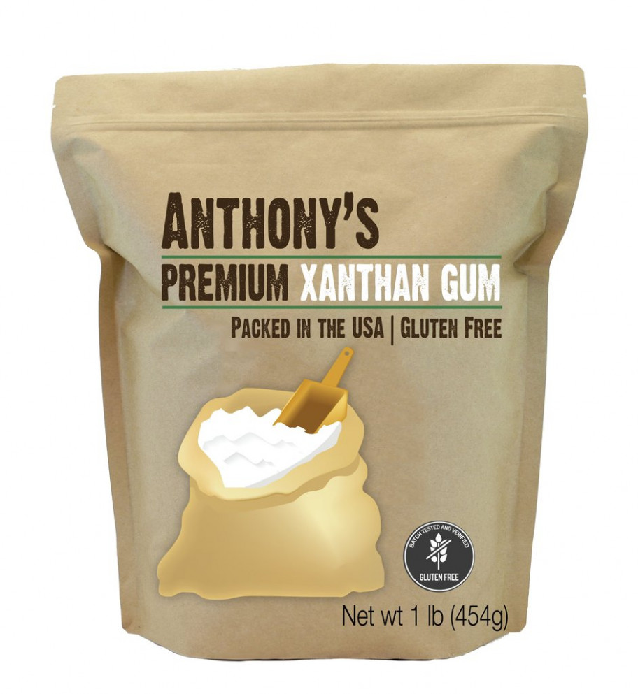 Xanthan Gum: Food Grade & Verified Gluten Free - Food Recipes Using Xanthan Gum