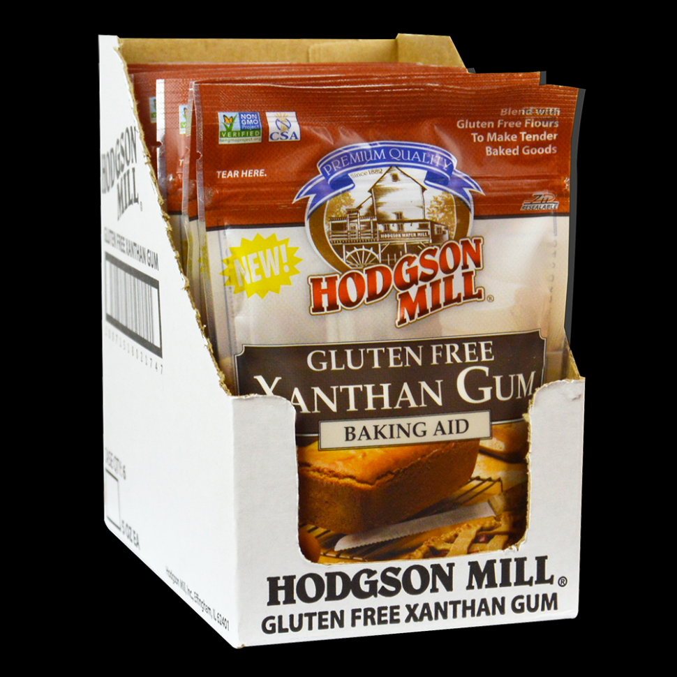 Xanthan Gum - Resealable Pouch - Hodgson Mill - healthy recipes with xanthan gum