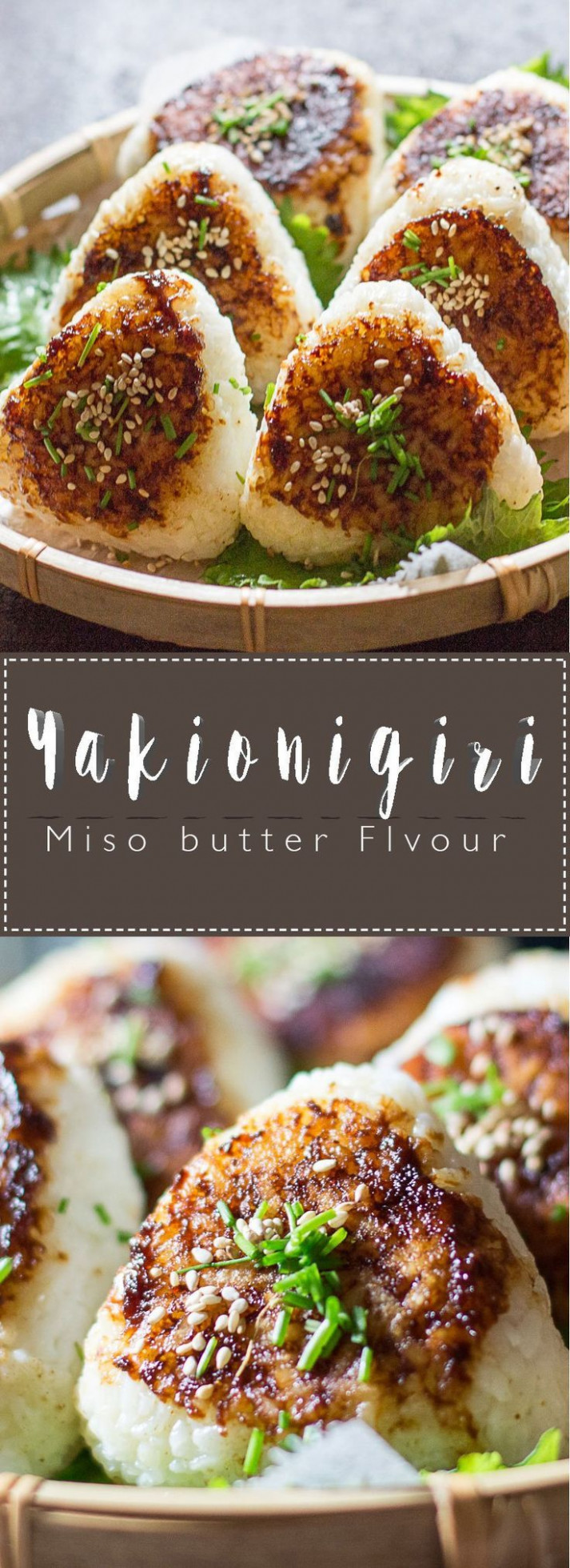 Yakionigiri Miso Butter Flavour Collage | Japanese Food ..
