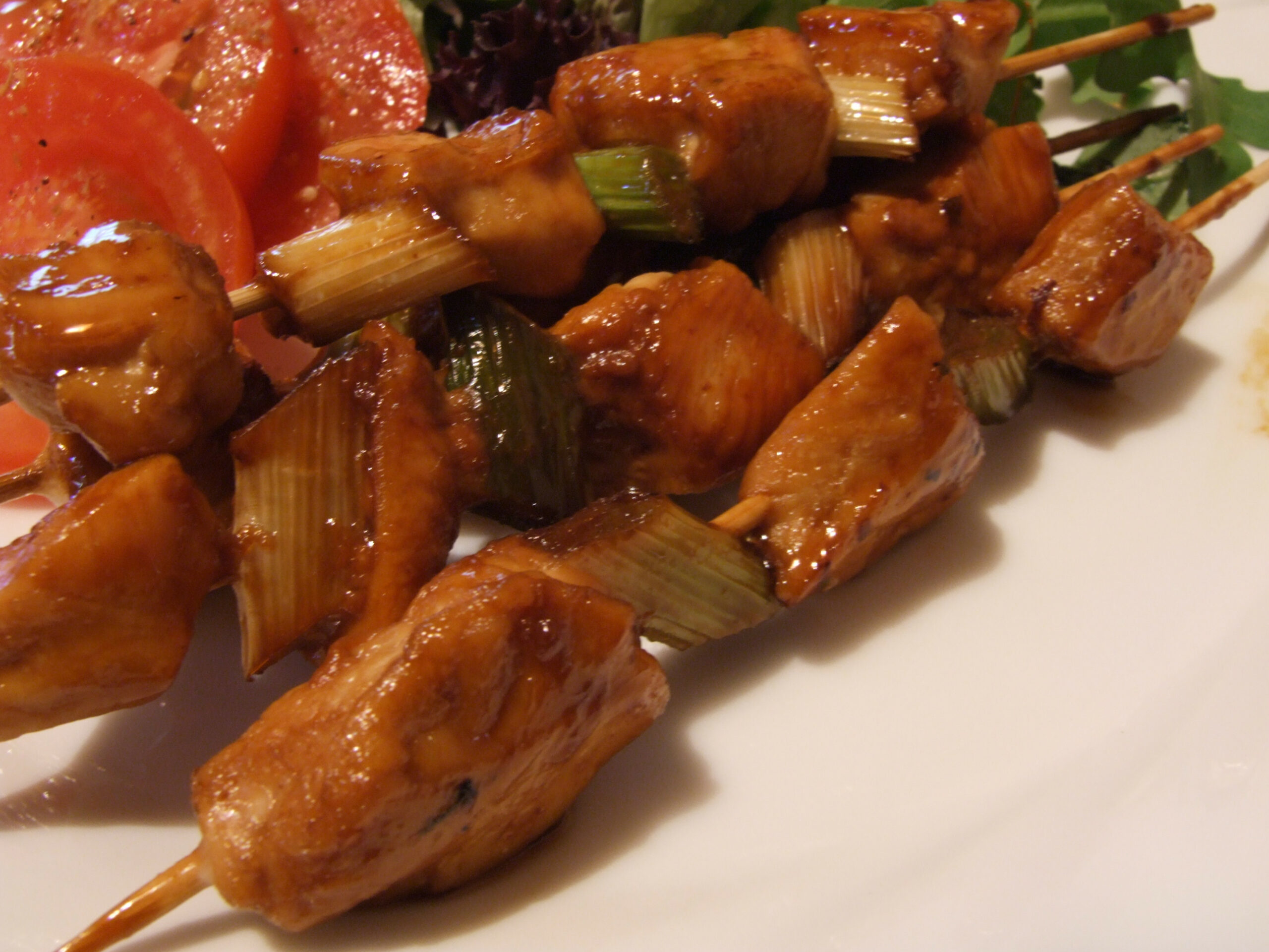 Yakitori ( Japanese Grilled Chicken Skewers) Recipe - Food