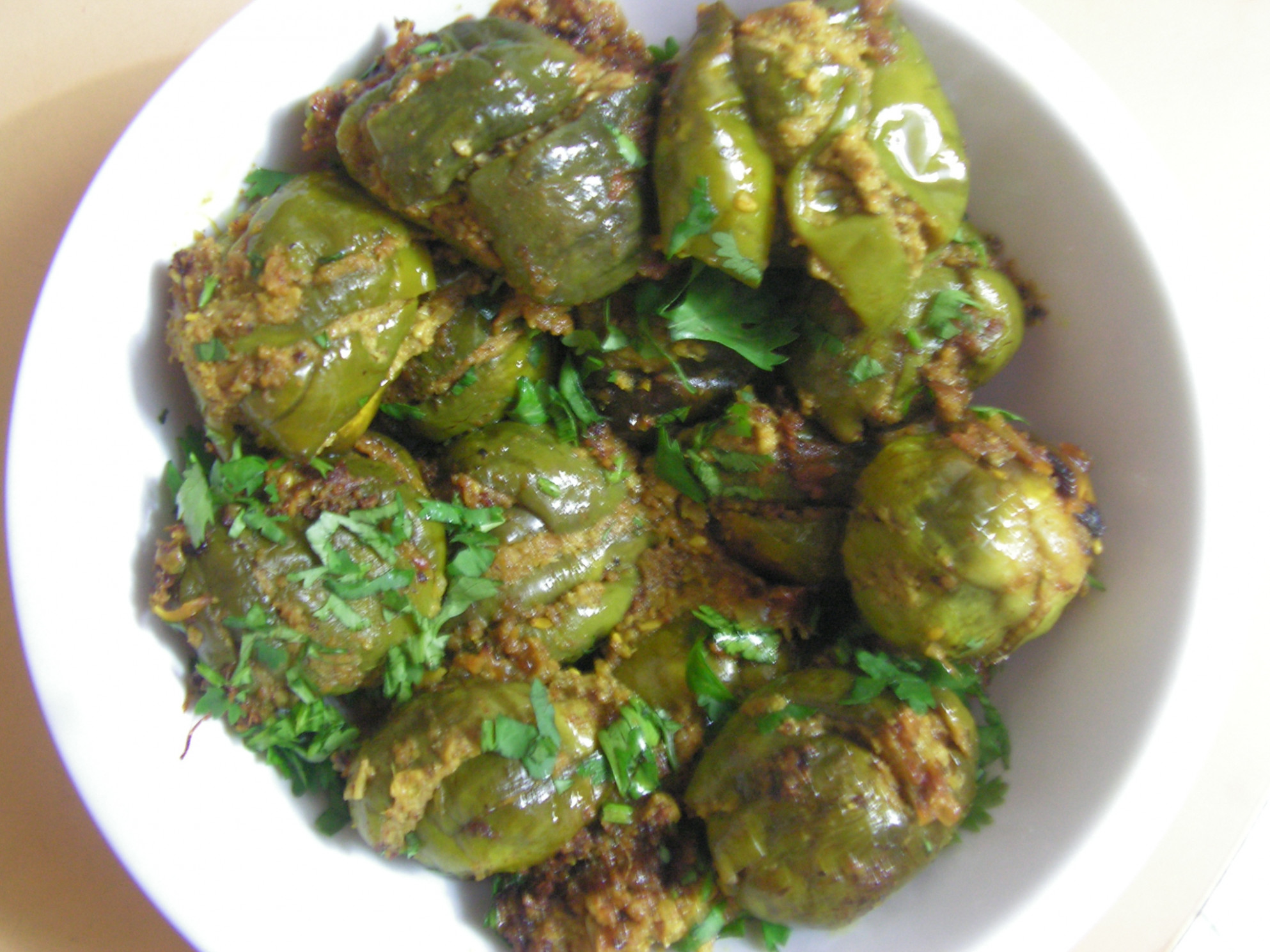Yengai – Stuffed Eggplant / Brinjal in Northern Karnataka ..