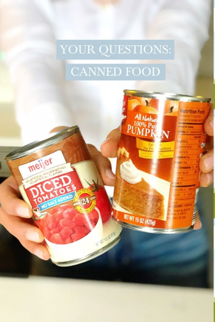 Your Questions: Canned Food - Tara Rochford Nutrition - recipes with canned food