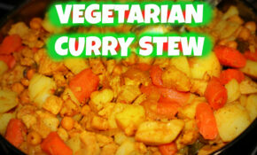 Yummy Vegetarian Recipe | Curry Stew – The Jamaican Mother – Recipes Curry Vegetarian