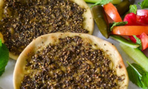Zaatar Manakeesh – A Popular Baked Bread From Middle East ..