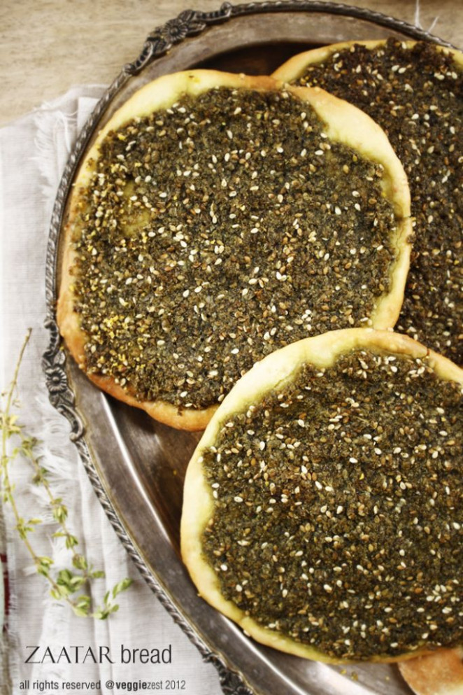 Zaatar - my FAVORITE! So simple, and so flavorful ..