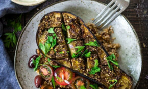 Zaatar Roasted Eggplant | Recipe | Dinner | Roast Eggplant ..