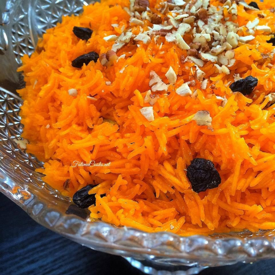 Zarda - Pakistani Sweet Rice With Nuts, Raisins & Cardamom - Pakistani Food Recipes