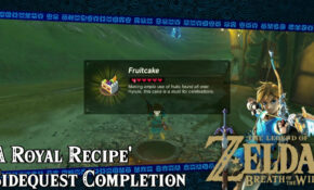 Zelda Botw Recipes | Treeofflife