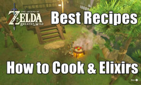 Zelda Breath Of The Wild Best Recipes – How To Cook Strong Foods And Elixirs – Food Recipes Breath Of The Wild