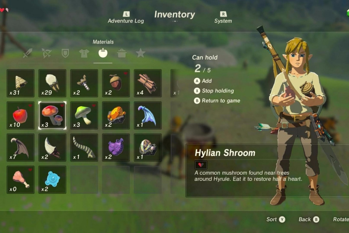 Zelda: Breath of the Wild cooking explained - ingredients ..