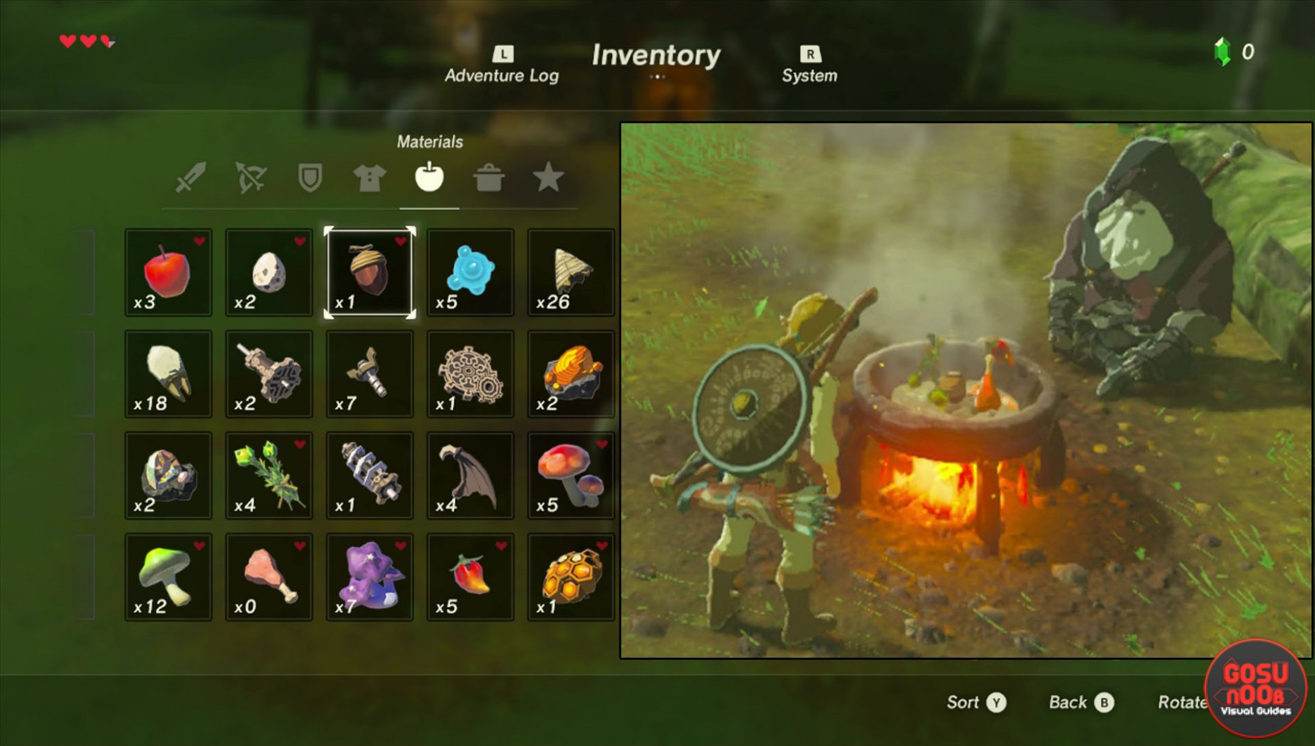 Zelda Breath of The Wild Cooking Recipes - How to Cook - food recipes breath of the wild