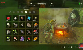 Zelda Breath Of The Wild Cooking Recipes – How To Cook – Legend Of Zelda Breath Of The Wild Food Recipes
