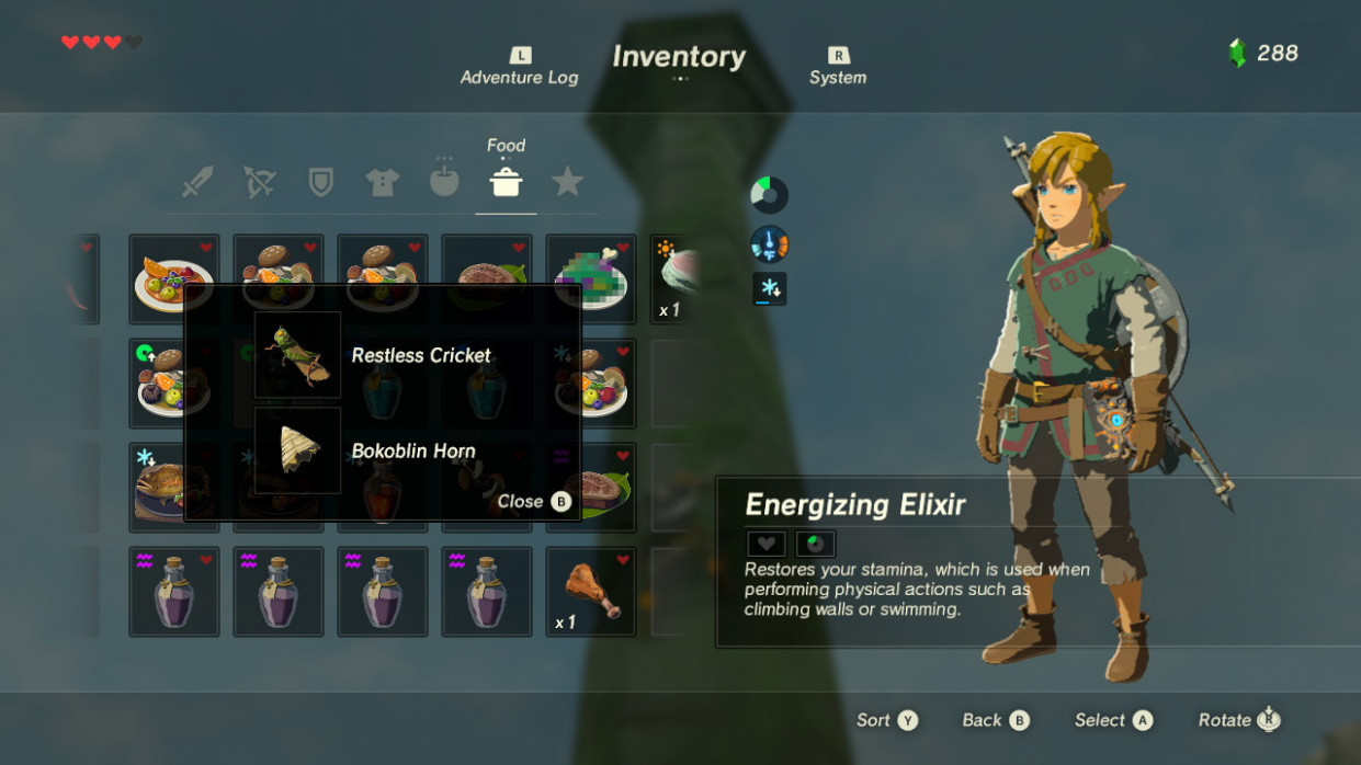 Zelda: Breath Of The Wild - Cooking Tips And Tricks - GameSpot - food recipes legend of zelda breath of the wild