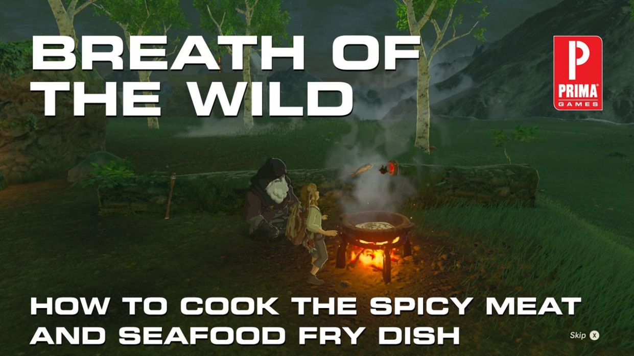 Zelda: Breath of the Wild - How to Make Spicy Meat and ..