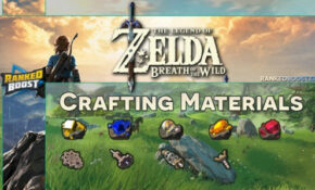 Zelda Breath of the Wild Materials Crafting List | Weapons ...