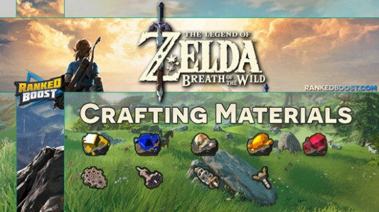 Zelda Breath of the Wild Materials Crafting List | Weapons ..